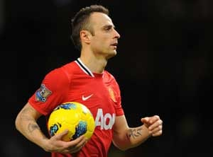 Berbatov is fine not being part of Champions League