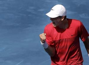Tomas Berdych into 3rd round at Australian Open