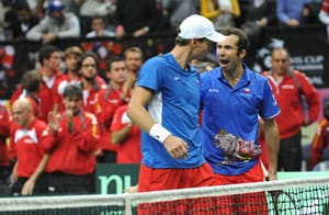 Czech Republic stun Spain in Davis Cup doubles