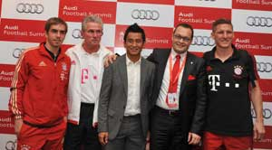 Bhaichung's farewell a serious workout for Bayern