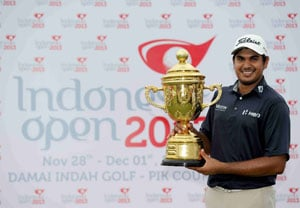 Gaganjeet Bhullar bags fifth Asian Tour title with win in Indonesia Open golf
