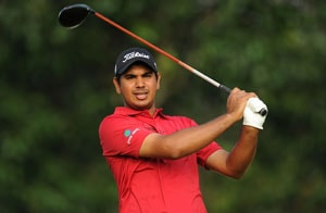Gaganjeet Bhullar tied eighth after first round in Qatar Masters