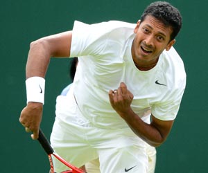 Bhupathi and Canadian partner crash out of Chennai Open