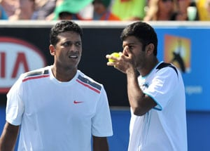 Bhupathi-Bopanna toil through; Paes-Stepanek surge ahead
