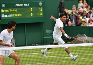 Mahesh Bhupathi, Rohan Bopanna and Sania Mirza advance to Wimbledon second round