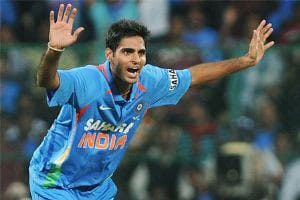 Tri-Series: Bhuvneshwar Kumar records his best bowling figures in ODIs