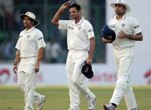 The dream is dead for Sachin, Dravid and Laxman