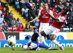 Blackburn down Arsenal for first win of the season