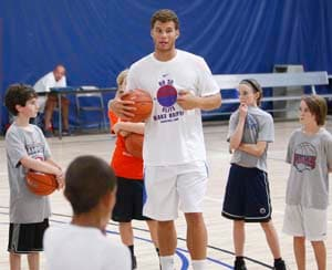 Clippers' Griffin stays busy during NBA lockout