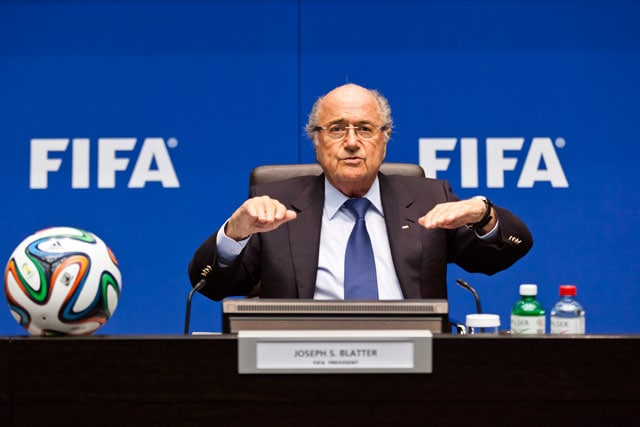 Sepp Blatter Says Qatar for 2022 FIFA World Cup a 'Mistake'