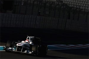 Sauber looking for improvements in 2012