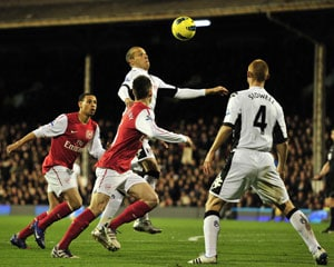 Zamora sinks Arsenal as Fulham fightback