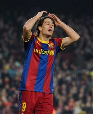 Barcelona's Bojan Krkic out for 6 to 8 weeks
