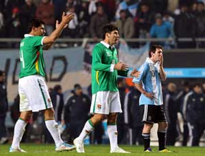 Bolivia out to prove Argentine draw no fluke