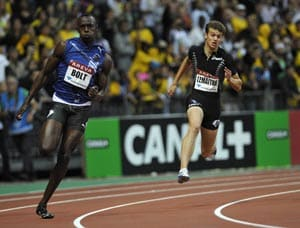 Bolt wins 200m race at Areva Diamond League