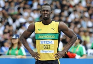 Usain Bolt and David Rudisha head stellar Zurich field