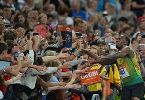 Usain Bolt marks London return with 100m triumph in 9.85 seconds