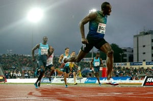 Usain Bolt banishes Rome blues with classy 200m victory in Oslo