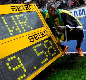 Usain Bolt sets sights on breaking own world record