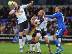 Bolton make sweeping changes after relegation