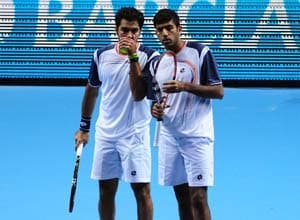 Bopanna-Qureshi lose ATP World Tour Finals opener