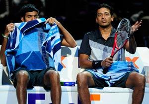 Bhupathi-Bopanna beaten in Tour Finals opener
