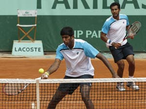 Bopanna-Qureshi storm into Paris Masters final