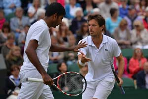Indians at Wimbledon: Leander Paes, Rohan Bopanna enter men's doubles semi-finals, Bhupathi's campaign ends