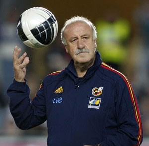 Vicente del Bosque not happy with conduct of Spain players
