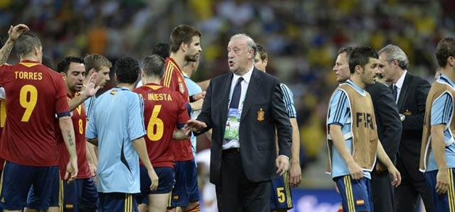Spain may be weary, but its coach is not