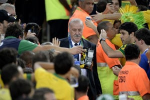 Confederations Cup: Back to the drawing board as Brazil burst Spain bubble