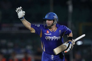 CLT20: Brad Hodge blast gives Rajasthan Royals home semifinal