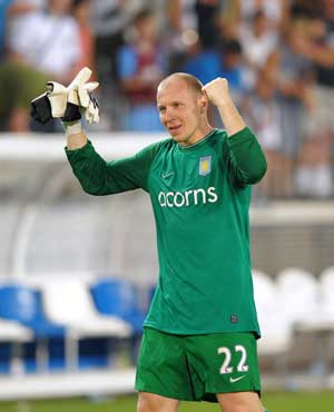 Restless Guzan offered new contract by Aston Villa