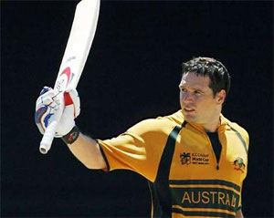 Brad Hodge retires from one-day cricket