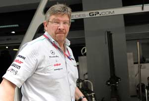 I am the boss at Mercedes, says defiant Ross Brawn