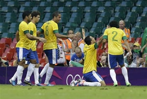 Brazil football team in flight scare