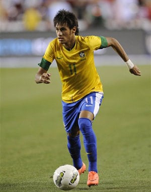 Confederations Cup: Neymar hits back at Uruguay skipper Diego Lugano
