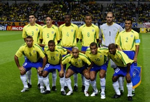 Brazil team of 2002 to play Chechnya