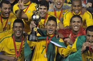 Brazil thrashes Uruguay 6-0