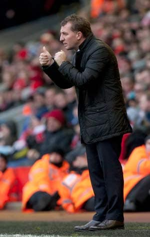 Brendan Rodgers cools title talk after Liverpool destroy Arsenal