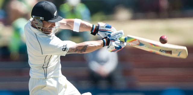 Brendon McCullum's triple ton brought New Zealand to a standstill, says coach Mike Hesson
