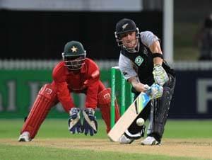 2nd T20: New Zealand power past Zimbabwe's 200
