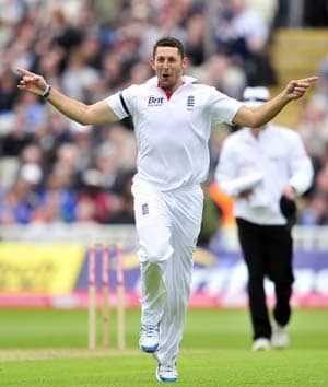 The Ashes: Tim Bresnan recalled to England squad