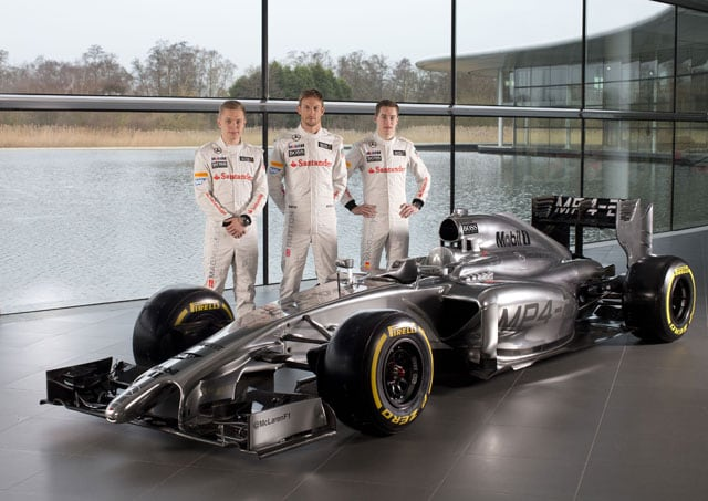 McLaren unveil car for upcoming season