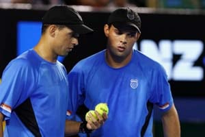 Olympics: Bryan brothers left out in the cold
