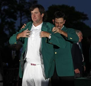 Bubba Watson wins playoff to claim Augusta Masters title
