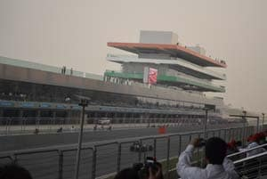 Organisers say time will improve Indian F1