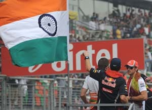 Indian GP sees a dip of 30,000 spectators from last year