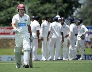 Australia A thrash England Lions by 122 runs