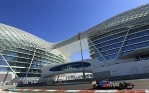 Abu Dhabi GP: Button fastest in opening practice session